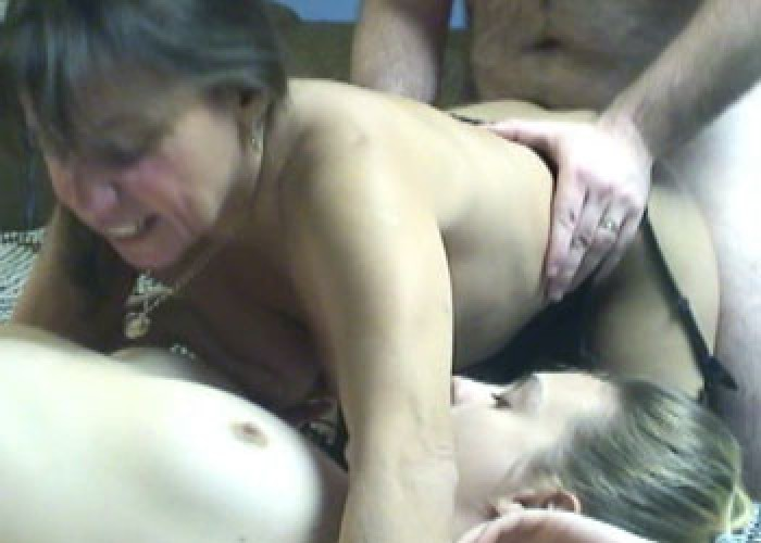 Vixen & Danni in a threesome